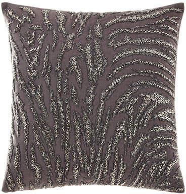 Donna Karan Home Abstract Beaded Decorative Pillow