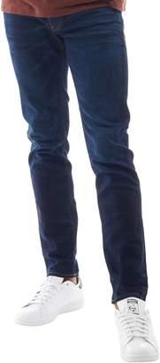 G Star G-STAR Mens 3301 Slim Jeans Blue Aged