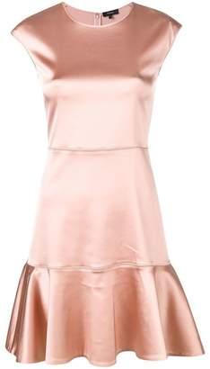 Theory Essential flared mini dress