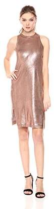 Splendid Women's Astor Metallic Coated Dress