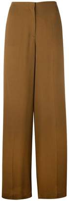 Theory high-waisted trousers