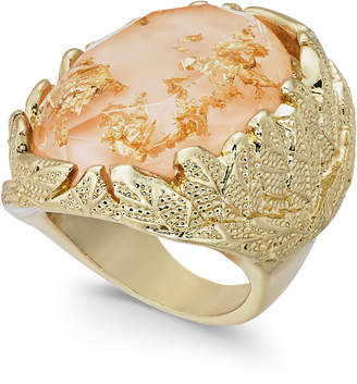 INC International Concepts I.n.c. Gold-Tone Stone Statement Ring