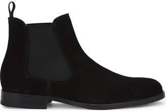 Aldo Angelucci suede Chelsea boots