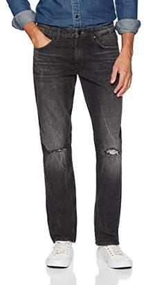 Denim Garage Classics Men's Relaxed Straight Leg Stretch Jean 36X36