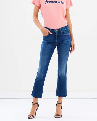 Mother The Outsider Crop Jeans