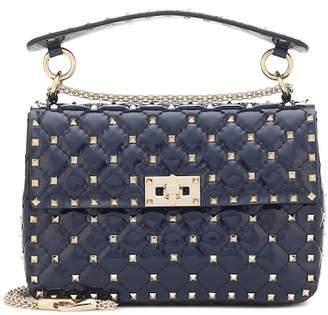 Valentino Rockstud Spike Medium patent leather shoulder bag