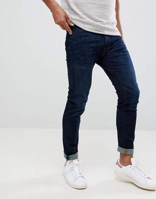 Abercrombie & Fitch skinny fit jeans in dark wash