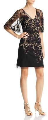 Aidan Mattox Embellished Cocktail Dress