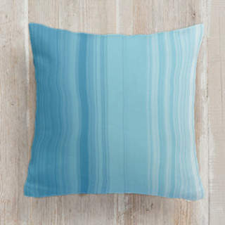 Watercolor Ombr Square Pillow
