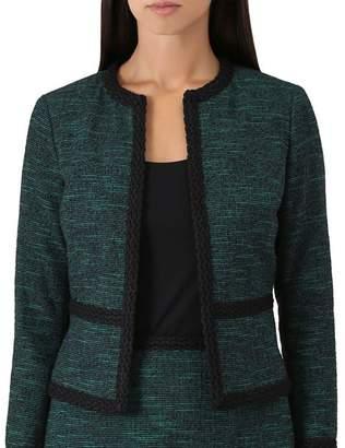 Hobbs London Felicia Tweed Cropped Jacket