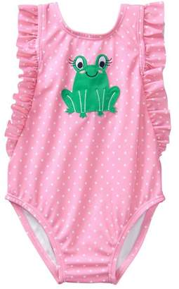 Gymboree Frog 1-Piece Swimsuit
