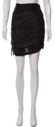 Lanvin Virgin Wool Knee-Length Skirt