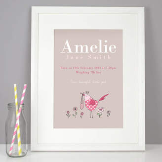Molly Moo Designs Personalised New Baby Gift For Girl Or Boy
