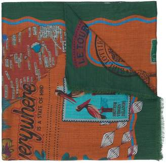 Etro new bohemian traveller scarf