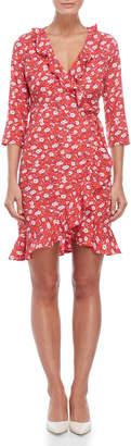 Vero Moda Molly Floral Wrap Dress