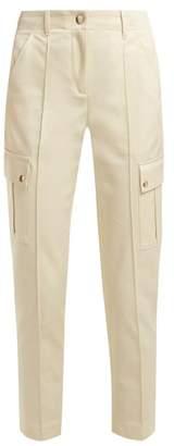 A.P.C. Avril Gabardine Cargo Trousers - Womens - Beige