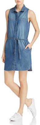PAIGE Eugenie Denim Shirt Dress $199 thestylecure.com