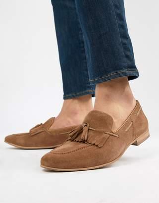 WALK LONDON WALK London Rob tassel loafers in tan suede