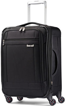 Samsonite Solyte Spinner Expandable Travel Case $320 thestylecure.com