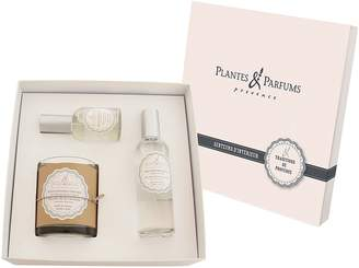 Plantes & Parfums Home Fragrance Cocoon Gift Box, Cotton Flower