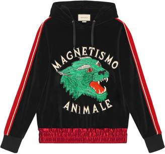 Gucci Magnetismo Animale chenille sweatshirt