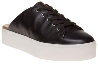 198ab33d8b8d2a at eBay Fashion Outlet · New Womens Calvin Klein Black Jaleh Leather Shoes  Sports Luxe Lace Up