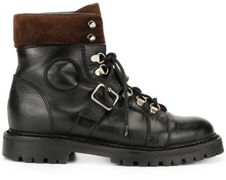 Gucci Pre-Owned buckled combat boots