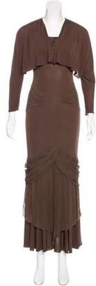 Yigal Azrouel Draped Dress Set