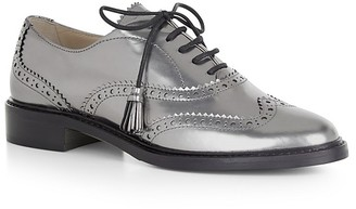 HOBBS LONDON Agatha Lace Up Brogues $320 thestylecure.com