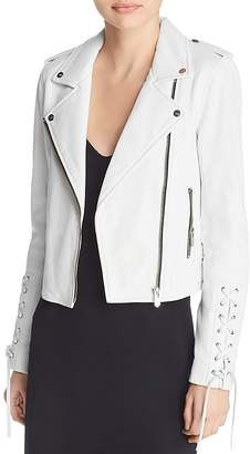 The Mighty Company Florence Leather Biker Jacket