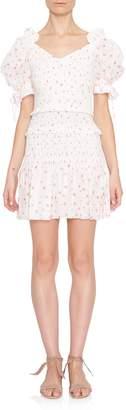 LoveShackFancy Tina Short Sleeve Dress