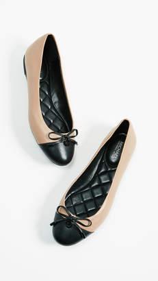 MICHAEL Michael Kors Melody Toe Cap Ballerinas