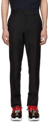 Burberry Black Mohair Marylebone Trousers