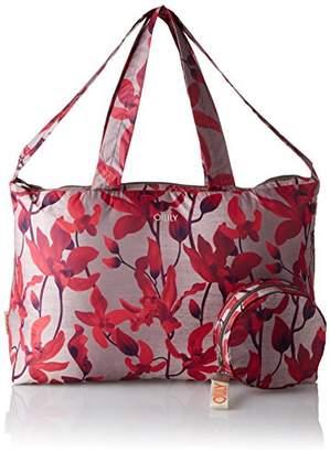 da3d34e15babc6 Oilily Enjoy Shopper Xlhz, Women's Satchel, Rot (Dark Red), (B