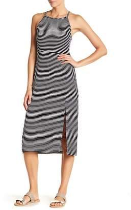 Spirit of Grace Striped Sleeveless Midi Dress