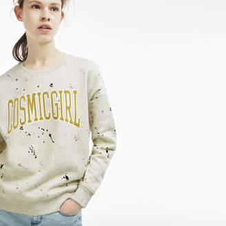 Lacoste (ラコステ) - 『COSMIC GIRL』ペイントスウェットシャツ