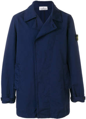 Stone Island double breasted coat