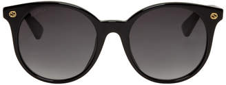 Gucci Black Pantos Sunglasses
