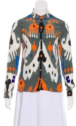 Gucci Silk Printed Top