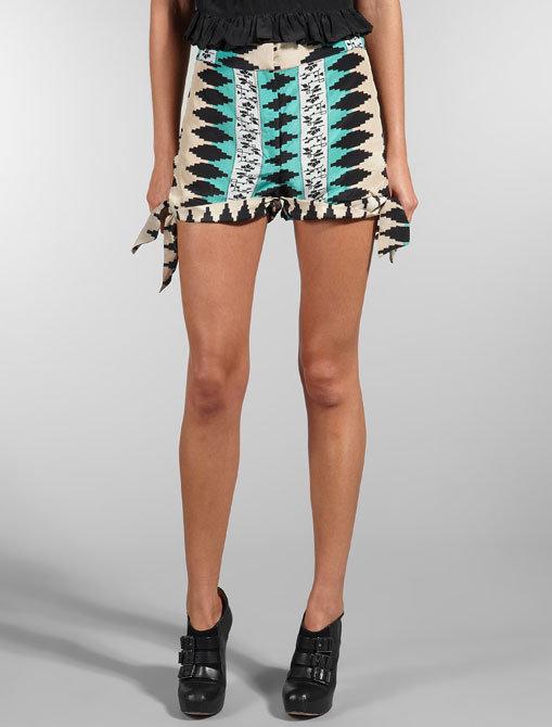 Eskell Emma Print Shorts