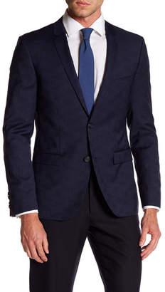 HUGO HUGO BOSS Adris Two Button Notch Lapel Trim Fit Virgin Wool Sport Coat $545 thestylecure.com