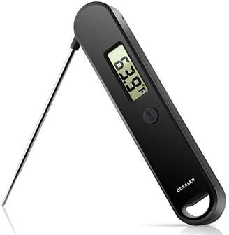 GDEALER Meat Thermometer Super Fast Instant Read Thermometer Digital Kitchen Cooking Thermometer With Long Collapsible Probe for Kitchen