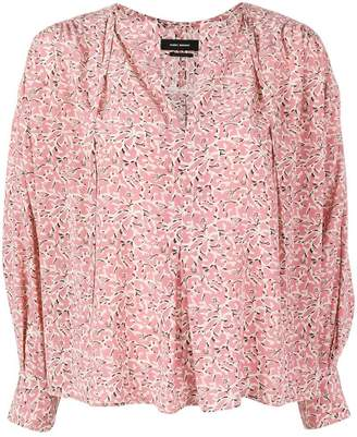 Isabel Marant patterned blouse