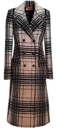 Missoni Double-Breasted Checked Wool-Blend Bouclé Coat