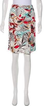 Loro Piana Linen Knee-Length Skirt