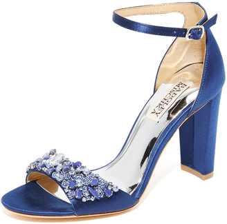 Badgley Mischka Barby Sandals $255 thestylecure.com