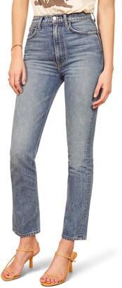 Reformation Stevie Ultra High Waist Cigarette Jeans