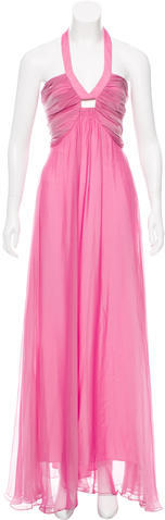 Max Mara MaxMara Halter Evening Dress