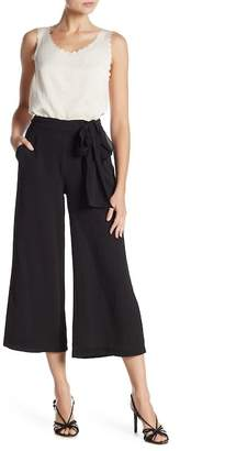 Max Studio Crop Crepe Pants