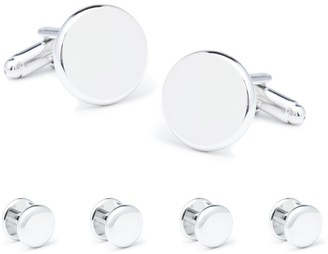 The Tie Bar Tuxedo Studs And Cufflinks